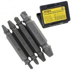 Экстрактор саморезов и винтов DrillPro (4 шт.)