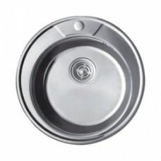 Мойка круглая FRAP, D490x0.8 мм. (Матовая) F490