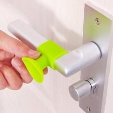 Силиконовый стоппер для дверной ручки (Белый)