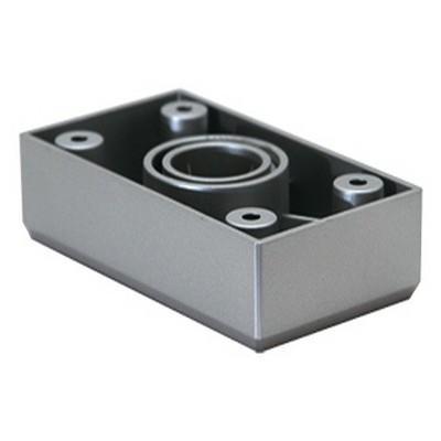 3890 Опора декоративная, Н-20 ДК5-50 (Серебро) (200)