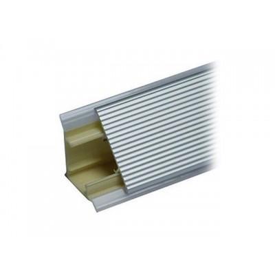 Плинтус для столешниц, 3.05 м., рифлёный (Алюминиевый)