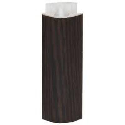Купить Угол для цоколя 135 град., универсальный, h=100 мм. (Дуб Венге) за 33.00 р. в интернет-магазине МФ-СНАБ