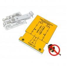 Мебельный шаблон ARVANT РШКН-50 для разметки кухонного навеса на разобранном коробе