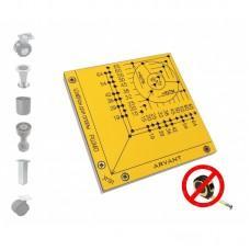 Мебельный шаблон ARVANT РШМО для разметки мебельных опор