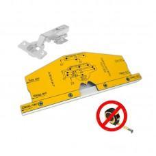 Мебельный шаблон ARVANT РШП-35Б для разметки фасадных петель без рулетки