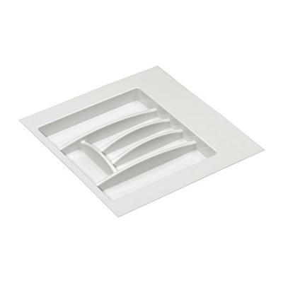 Лоток для столовых приборов 600 мм. (Белый) (530х485)