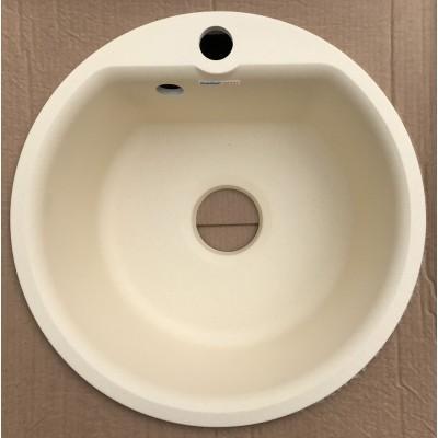 Купить Каменная мойка Granfest Smart SM435//H18 Круглая (Бежевая) за 1 600.00 р. в интернет-магазине МФ-СНАБ