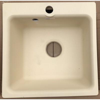 Каменная мойка Granfest Smart SM430//H18 43х43 Квадратная (Бежевая)