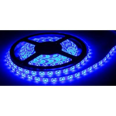 Купить Светодиодная лента, smd3528, 4.8 Вт/м., 60 led/м., IP23 (Синяя) (5 м.) за 51.00 р. в интернет-магазине МФ-СНАБ
