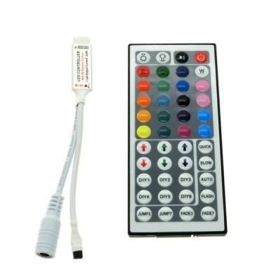 Купить Контроллер для управления RGB лентой (44 клавиши) за 168.40 р. в интернет-магазине МФ-СНАБ
