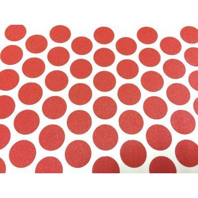Заглушка самоклеящаяся для евровинта (Красная)