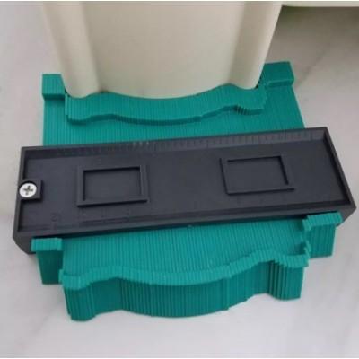 Купить Шаблон для копирования сложных контуров, 125 мм. за 875.00 р. в интернет-магазине МФ-СНАБ
