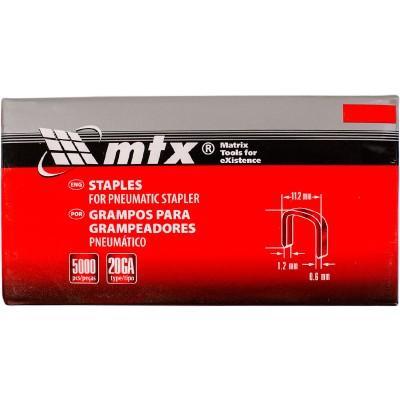 Купить Скобы MTX для пневматического степлера 16 мм., 1.2х0.6х11.2 мм. за 631.00 р. в интернет-магазине МФ-СНАБ