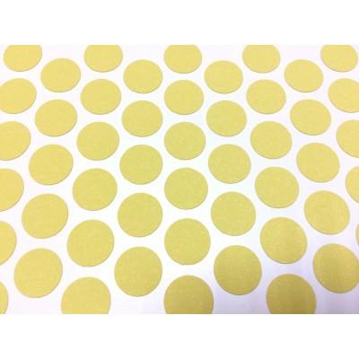 1185 Заглушка самоклеящаяся для евровинта №20 (Жёлтая)