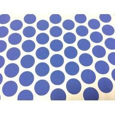 1191 Заглушка самоклеящаяся для евровинта (Синяя)
