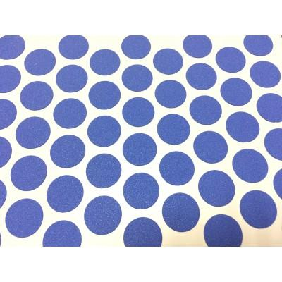 Заглушка самоклеящаяся для евровинта (Синяя)