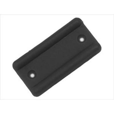 1398 Подпятник пластиковый (Чёрный) (500)