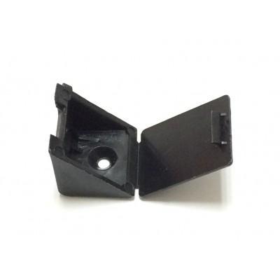 Уголок монтажный, пластиковый (Чёрный)