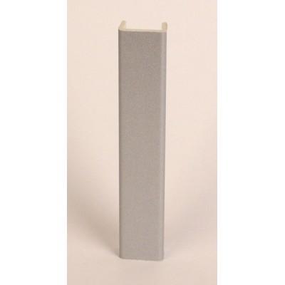 1620 Заглушка для цоколя, h=100 мм. (Алюминий)