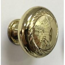 Ручка кнопка К1-21.21.21 (Золото)