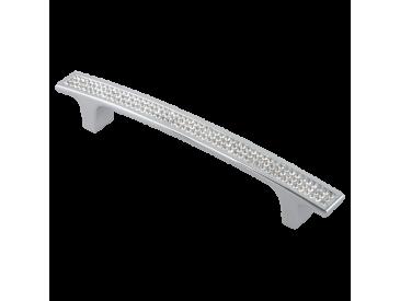 Ручка-скоба со стразами CRL08 (Хром)